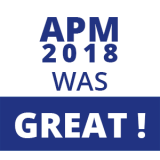 APM 2018 was GREAT