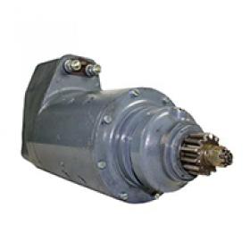 Prestolite U6 electric starter motor