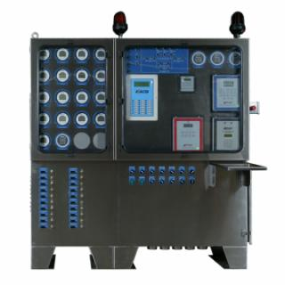 Altronic Exacta21 monitoring, controlling and optimizing panel
